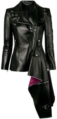 Alexander McQueen ruffled asymmetric jacket