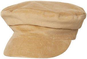 LACK OF COLOR New Women's Cord Cap Cotton Corduroy Natural