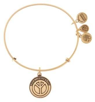 Alex and Ani World Peace Charm Expandable Wire Bracelet