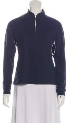 Burberry Golf Long Sleeve Pullover Sweatshirt