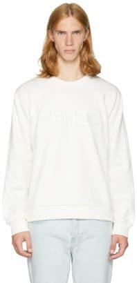 Kenzo White Logo Sweatshirt