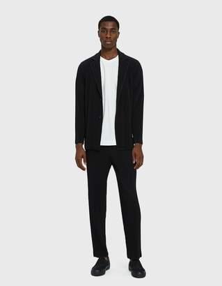 Issey Miyake Homme Plisse Basic Blazer in Black