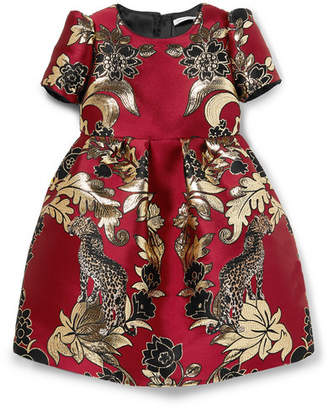 Dolce & Gabbana Ages 2 - 6 Brocade And Tulle Dress