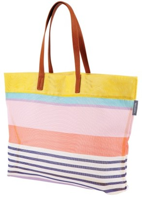 Sunnylife Luxe Havana Mesh Beach Tote - Pink $35 thestylecure.com