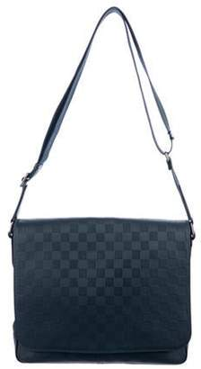Louis Vuitton Damier Infini District MM silver Damier Infini District MM