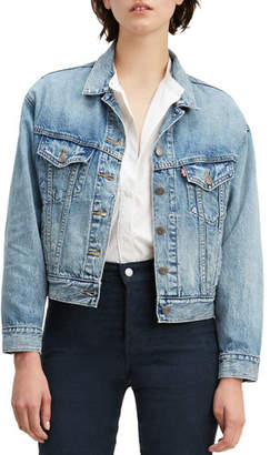 Levi's Premium Slouchy Denim Trucker Jacket