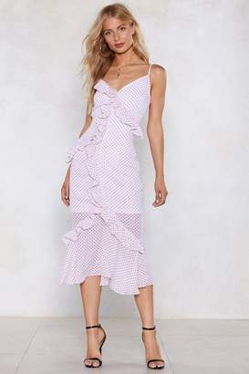 Nasty Gal Sweet Company Polka Dot Dress