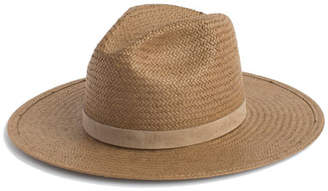 Janessa Leone Adriana Packable Straw Panama Hat