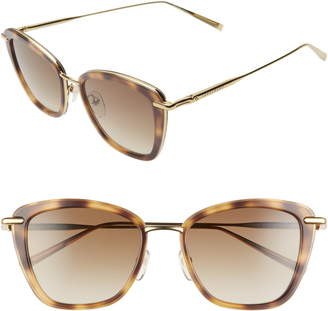 Longchamp Roseau 52mm Gradient Square Sunglasses