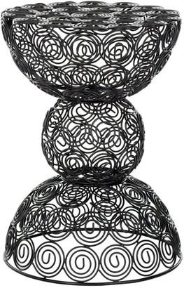 Safavieh Leila Iron Wire Stool