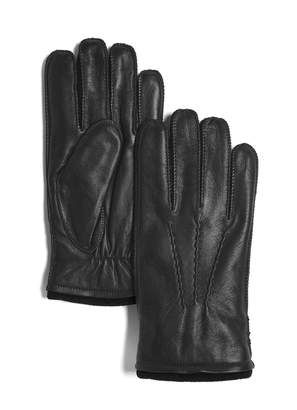 Marron Classic Cedar Leather Gloves