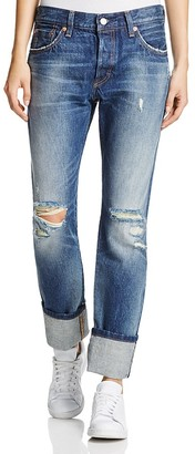 Levi's 501® Straight Leg Jeans in Ride West $148 thestylecure.com