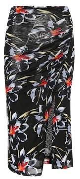 Diane von Furstenberg Floral-printed midi skirt
