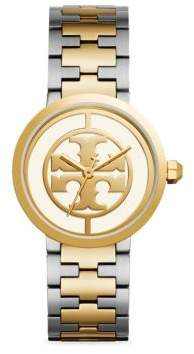 Tory Burch Reva Stainless Steel Strap Watch