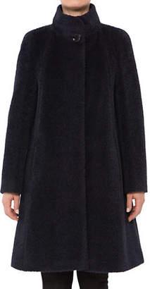 Cinzia Rocca Icons A-Line Wool-Blend Coat