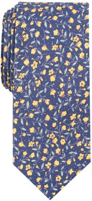 Bar III Men's Mora Floral Skinny Tie, Created for Macy's