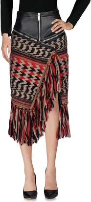 DSQUARED2 3/4 length skirts
