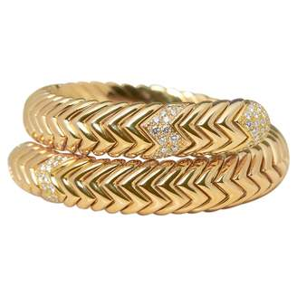Bulgari Serpenti yellow gold bracelet