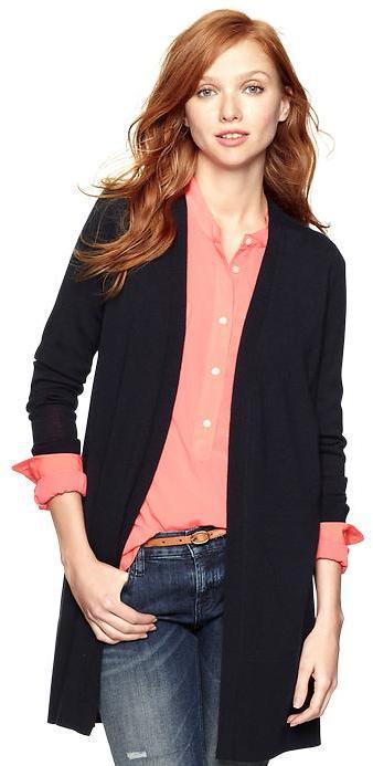 Gap Long knit cardigan
