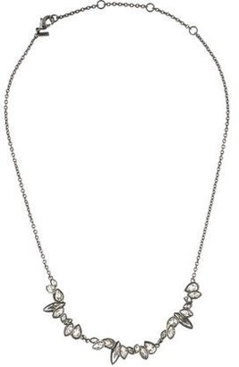 Alexis Bittar Miss Havisham Liquid Crystal Marquis Cluster Necklace $45 thestylecure.com