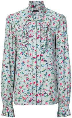 Jill Stuart floral print shirt