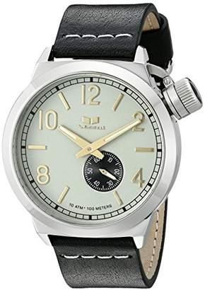 Vestal Unisex CNT3L01 Canteen Leather Analog Display Quartz Watch