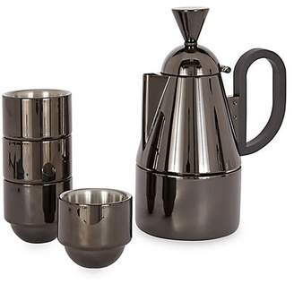 Tom Dixon Brew Stove Top Stainless Steel Five-Piece Coffee Set