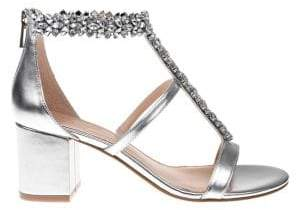 Badgley Mischka Janica Ankle-Strap Sandals