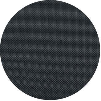 Chilewich Basketweave Round Placemat - Navy