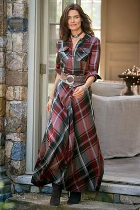 Soft Surroundings Terrific Tartan Dress