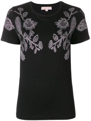 MICHAEL Michael Kors stud detailed T-shirt