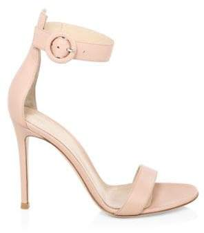 Gianvito Rossi Dahlia Stiletto Leather Sandals