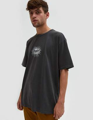 Obey Spazz Tee in Dusty Black