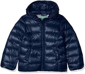 Benetton Girl's Down Jacket Long Sleeve Jacket,(Herstellergröße: XXS)