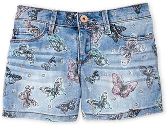 Jessica Simpson Girls 7-16) Butterfly Denim Shorts