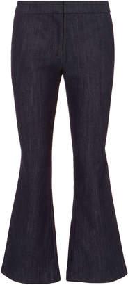 Derek Lam 10 Crosby Denim Crop Flare Trousers