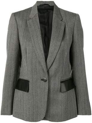 Gucci PRE-OWNED chevron pattern blazer