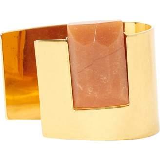 Celine Gold Metal Bracelet
