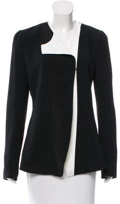 Narciso Rodriguez Structured Contrast Blazer