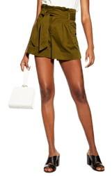 Topshop Paperbag Utility Shorts