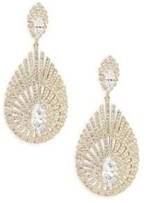 Adriana Orsini Pheonix Pavé Drop Earrings