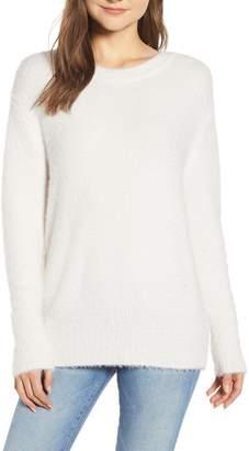 Chelsea28 Fuzzy Knit Sweater