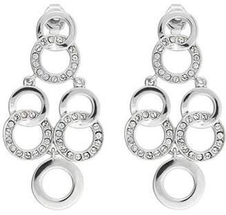 Adore Interlocking Rings Chandelier Earrings