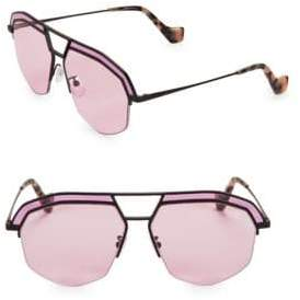 Loewe LW40016I 60MM Aviator Sunglasses