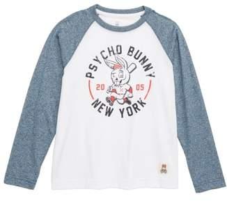 Psycho Bunny Graphic Baseball Shirt