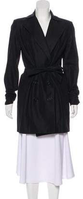 Theyskens' Theory Structured Knee-Length Coat w/ Tags