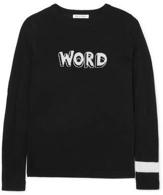 Word Wool Sweater - Black