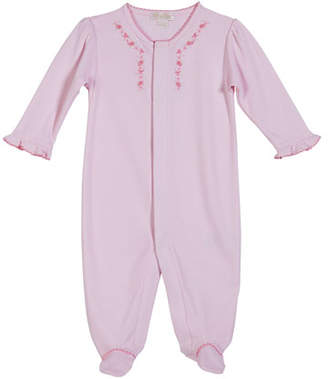 Kissy Kissy Rosebud Ribbons Footie Playsuit, Size Newborn-9 Months