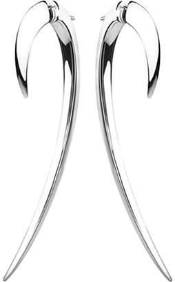 Shaun Leane Sterling silver hook earrings size 2, silver