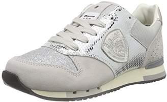 Blauer Women's Worunori Low-Top Sneakers, Argent, (36 EU)